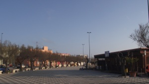 la piazza di Torre San Gennaro