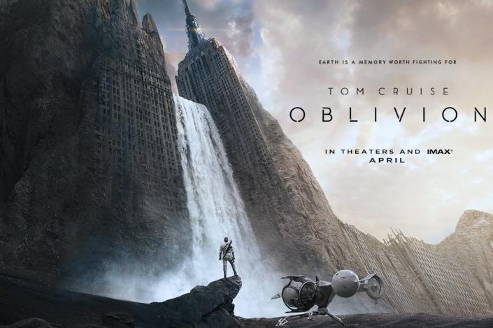 Oblivion - locandina