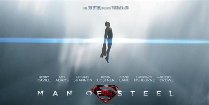 """Man of steel"" di Zack Snyder"