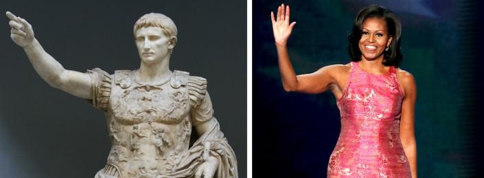 Ottaviano Augusto - Michelle Obama