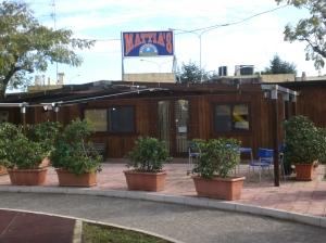 """il vecchio bar """"Mattia's"""" del piazzale"""